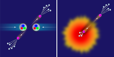 The Stopping Power of Hot Nuclear Matter