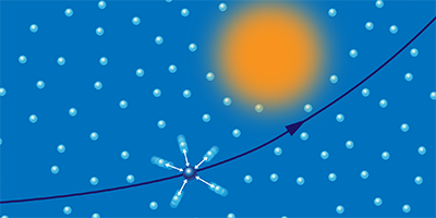 Quantum Jostling Proves Diverting for Electrons in a Metal