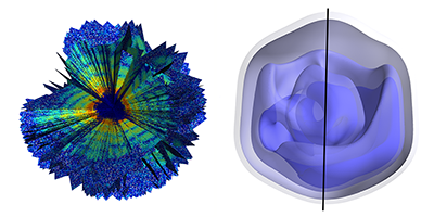 X-Ray Imaging of a Single Virus in 3D
