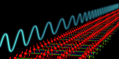 Electronic Tuning of Spin Waves