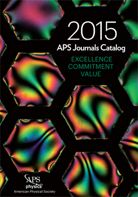 2015 APS Journals Catalog