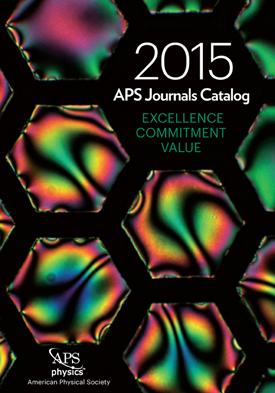 2015 APS Journals Catalog