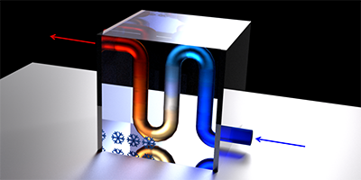 Synopsis: A Polariton Fridge for Semiconductors