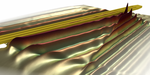 Synopsis: How Spin Waves Bend