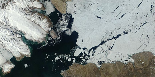Synopsis: How Ice Bridges Form