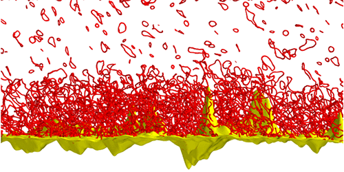 Synopsis: Superfluid Storm at a Surface
