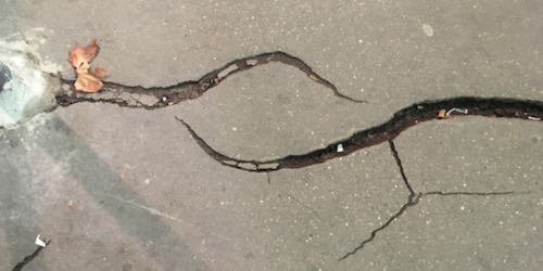 Synopsis: Why Some Cracks Repel