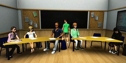 Synopsis: A Virtual Physics Classroom