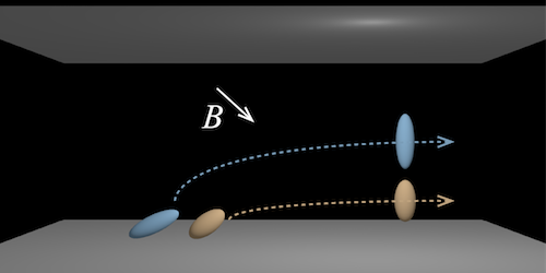 Synopsis: Magnetic Wand Directs Particles in Microfluidic Device