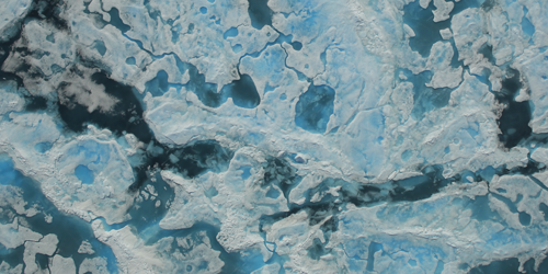 Synopsis: The Geometry of Arctic Ponds