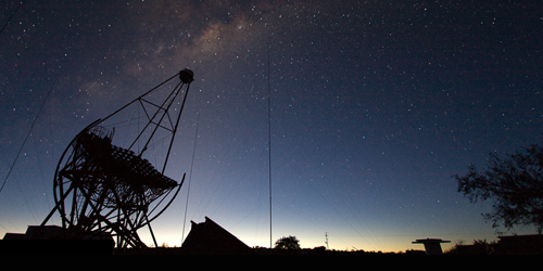 Synopsis: Ten-Year Search Finds No Signs of Dark Matter Annihilation